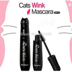 Тушь для ресниц Aliexpress Cute Cartoon Cat Shape Volume Curling Mascara Makeup waterproof Lash Extension Black Max Mascara фото