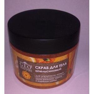 Скраб для тела Тимекс GEO Апельсиновый для упругости кожи фото