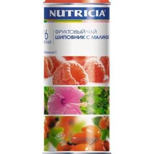Чай Nutricia ШИПОВНИК И МАЛИНА фото