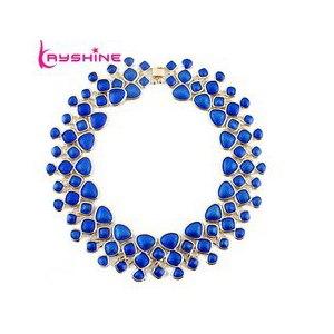 Бижутерия Aliexpress Statement Necklace Fashion Designer Jewelry Colorful Enamel Bubble Bib Choker Necklace Collares Mujer фото