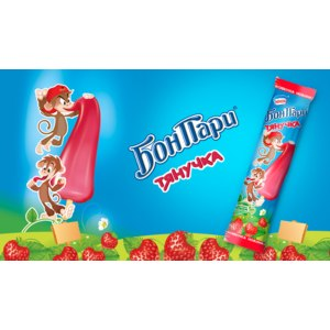 Мороженое Nestle Бон Пари Тянучка фото