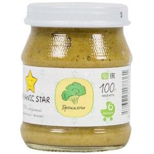 Детское питание Organic Star Брокколи фото