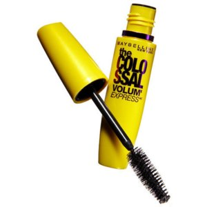 Тушь для ресниц MAYBELLINE The colossal volum express 100% black фото