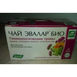 Чай Эвалар БИО Гинекологические травы фото