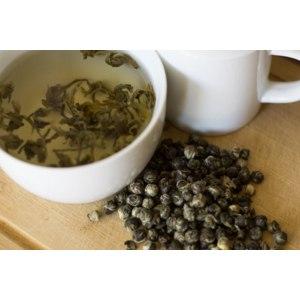 Чай зеленый Кофейная Кантата Жемчужина Дракона  фото