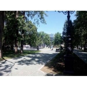"""Сквер """"Театральный"""", Уфа фото"""