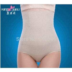 Корректирующее нижнее белье Aliexpress Maternity High Waist slimming Panties Puerperal Butt-lifting Seamless body Shaper Corselets Bamboo Crotch фото