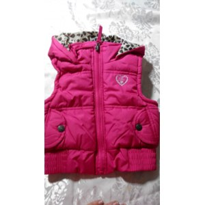 Жилетка Pink Platinum Little Girls' Solid Puffer Vest фото