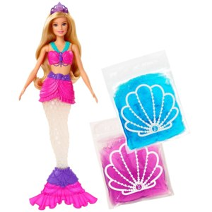 Barbie Dreamtopia Русалочка со слаймом, GKT75 фото