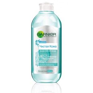 """Мицеллярная вода Garnier """"Чистая кожа"""" Для жирной чувствительной кожи,склонной к несовершенствам фото"""