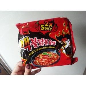Лапша быстрого приготовления Samyang Hot chicken 2x spicy  фото