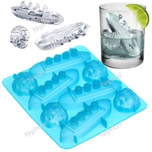 Форма для льда TinyDeal Titanic Ship & Iceberg Shaped Novelty Ice Cube Maker Tray Ice Mode for Life HLI-81108 фото