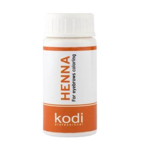 Хна для окрашивания бровей Kodi Professional фото