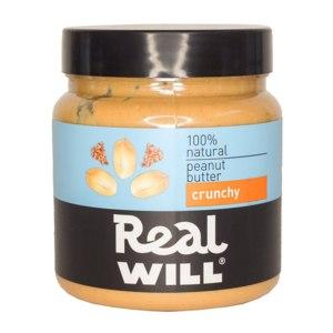 Арахисовая паста Real Will хрустящая фото