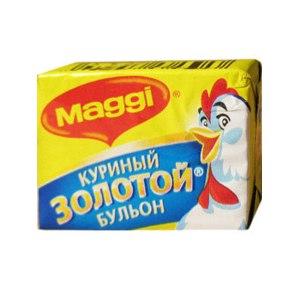 Бульонный кубик Maggi Куриный золотой бульон фото