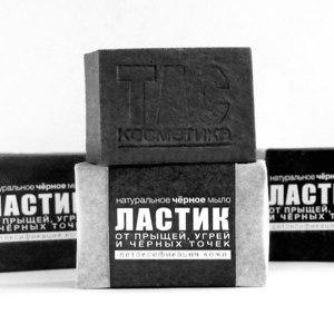 Натуральное мыло ТДС Косметика Ластик: глубокая очистка и детоксикация фото