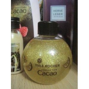 """Масло с блестками для тела и волос Ив Роше / Yves Rocher """"Какао и Апельсин"""" фото"""