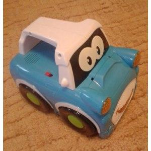 Детская игрушка с генератором мыльных пузырей Bubble car фото