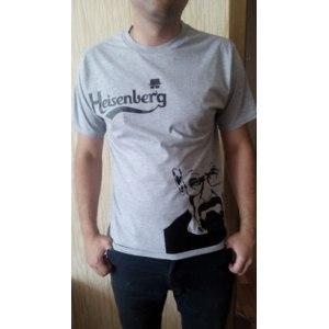 Футболка AliExpress Сериал Breaking Bad Los Pollos Hermanos t shirt Heisenberg tshirt Short Sleeve O-Neck Printing T Shirt For Men I Am The One Who Knocks  фото