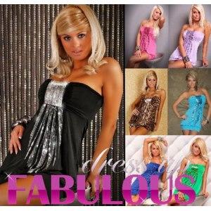 Платье Ebay NEW SEXY SIZE 6-8-10 WOMEN'S PARTY CLUB EVENING STRAPLESS MINI DRESS PINK BLACK фото