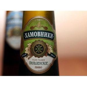 Пиво Хамовники Пильзенское фото
