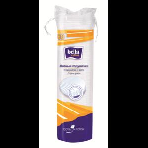 Ватные подушечки Bella Cotton (круглые), 80шт фото