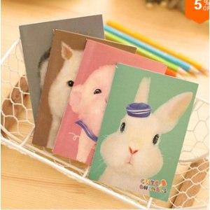 Канцелярские товары Aliexpress Cute cartoon creative agenda notebook office supplies school animals Filofax diary notebook office OSS - 0189 фото