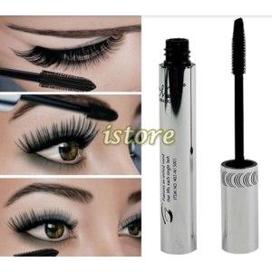 Тушь для ресниц Aliexpress   2013 New arrival brand Eye Mascara Makeup Long Eyelash Silicone Brush curving lengthening colossal mascara Waterproof Black12395 фото