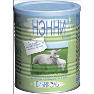 Детская молочная смесь Бибиколь Нэнни Классика на основе козьего молока фото