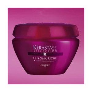 Маска для волос Kerastase Chroma Riche для окрашенных или мелированных  фото