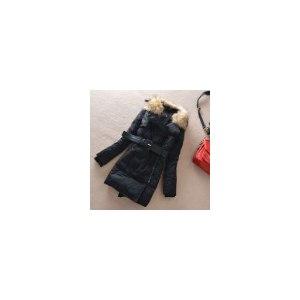 Пуховики AliExpress winter women's fashion large fur collar medium-long пуховик пальто фото