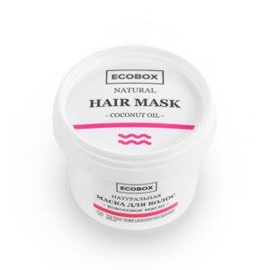 Маска для волос Ecobox Кокосовое масло  фото