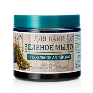 """Густое мыло для бани Спектр  зеленое мыло для """"Натуральное Алтайское"""" для ухода за волосами и телом  фото"""