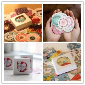 Наклейки с AliExpress 38 pcs/bag DIY Cute Kawaii Scrapbook Paper Stickers Crafts and Scrapbooking Decorative Sticker for Decoration Free shipping 533 фото