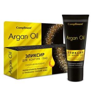 Эликсир для контура глаз Compliment Argan Oil Омолаживающий фото