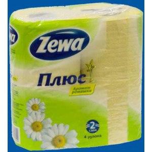 Туалетная бумага Zewa Плюс ароматизированная фото