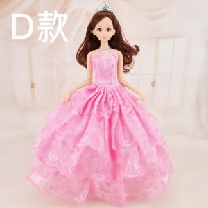 Aliexpress Кукла Барби с шарнирным механизмом на руках и ногах 1pc Cute Beautiful Doll Toy Moveable Joint Body Fashion Toys High Quality Girls Plastic Classic Best Gift Figure brinquedo 30cm фото