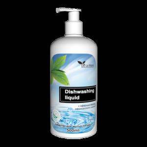 Средство для мытья посуды Delamark С эфирным маслом африканского лимона фото