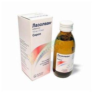 Средства д/лечения простуды и гриппа Берингер Ингельхайм Эллас Лазолван фото