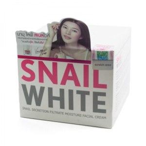 Тайский крем для лица с улиткой snail