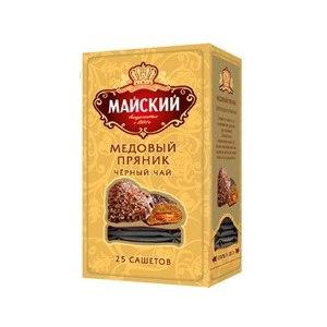 Чай в пакетиках Майский  Медовый пряник фото