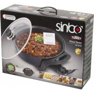 Электрическая сковорода для приготовления пиццы Sinbo Pizza Pan SP5210 фото