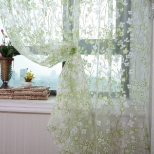 Шторы Aliexpress Free shippin rustic floral design sheer curtain tulle fabric home фото