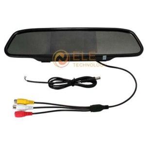 Зеркало заднего вида Aliexpress  4.3 inch TFT Color LCD car mirror rear view mirror car monitor  фото