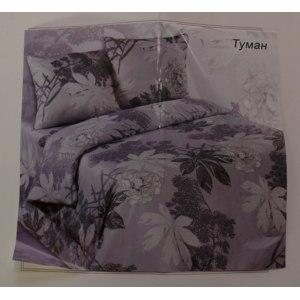 """Постельное бельё """"Мир текстиль"""" расцветка Туман, сатин  фото"""