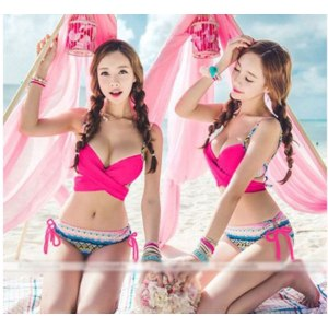 Купальник AliExpress Sexy Women Bandage Bikini Set Push-up Padded Bra Swimsuit Swimwear Hot Summer Free Shipping фото