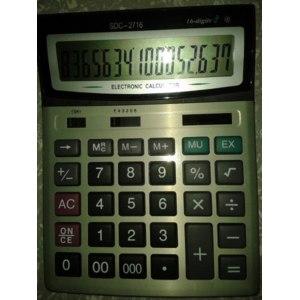 Калькуляторы SDC 2716 фото