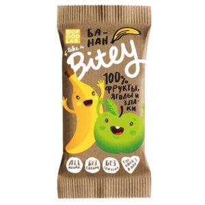 Батончик Bitey Яблоко-банан. 25 гр. фото