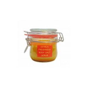 Солевой скраб для тела Levrana Organic Цитрусовая свежесть фото
