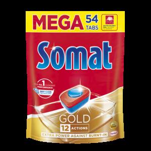 Таблетки для посудомоечной машины Somat Gold 12 Actions фото